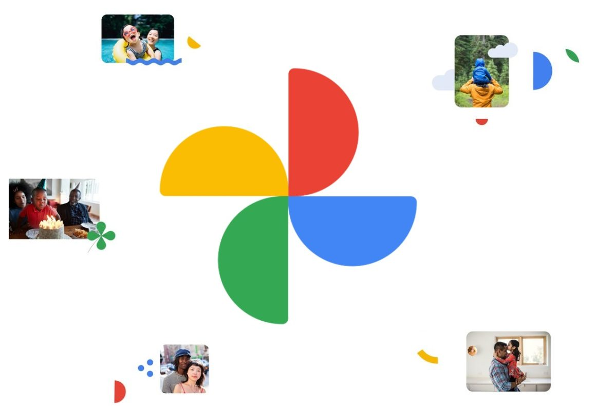 Google Photos resize adds a map view and introduces a new logo