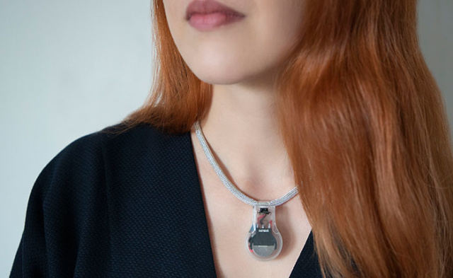 NASA has created a necklace that reminds you not to touch your face