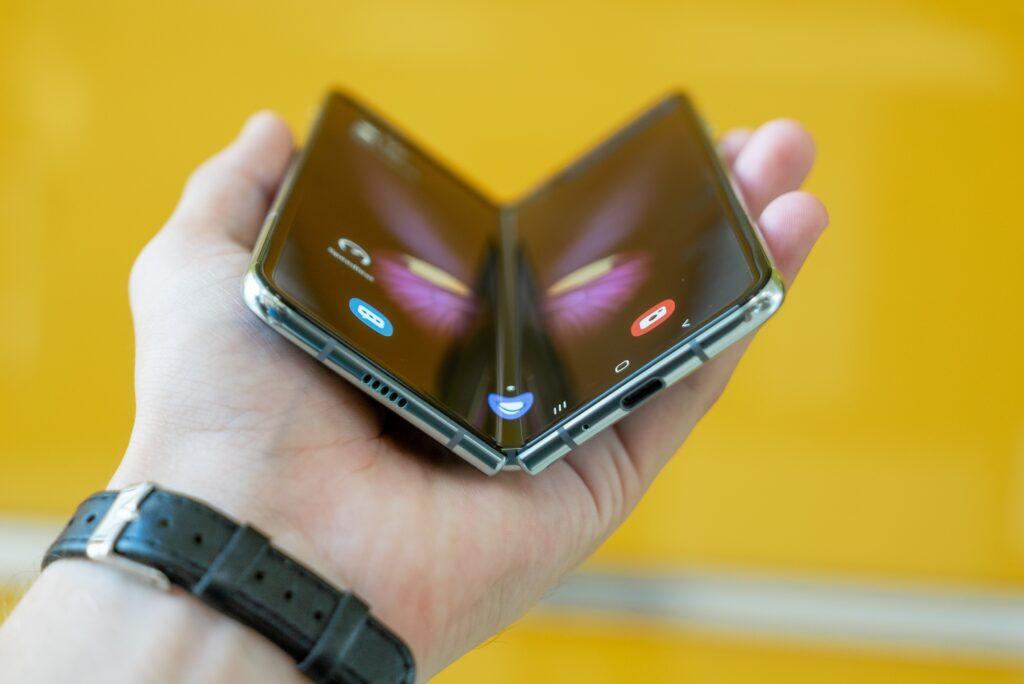 samsung folding phone