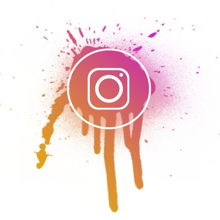 Muted color palettes for Instagram graphics