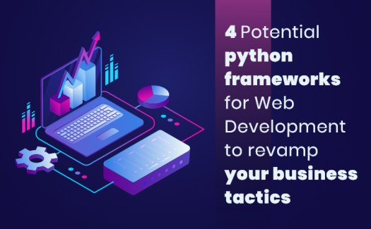 Python frameworks for web development to revamp your business tactics