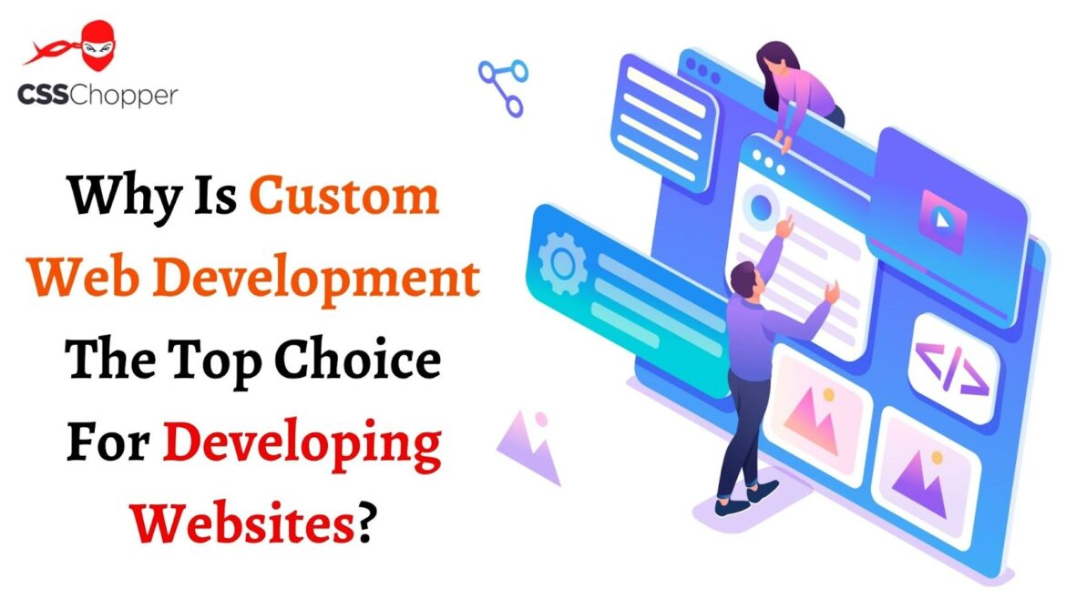 Why Is Custom Web Development The Top Choice For Developing Websites?
