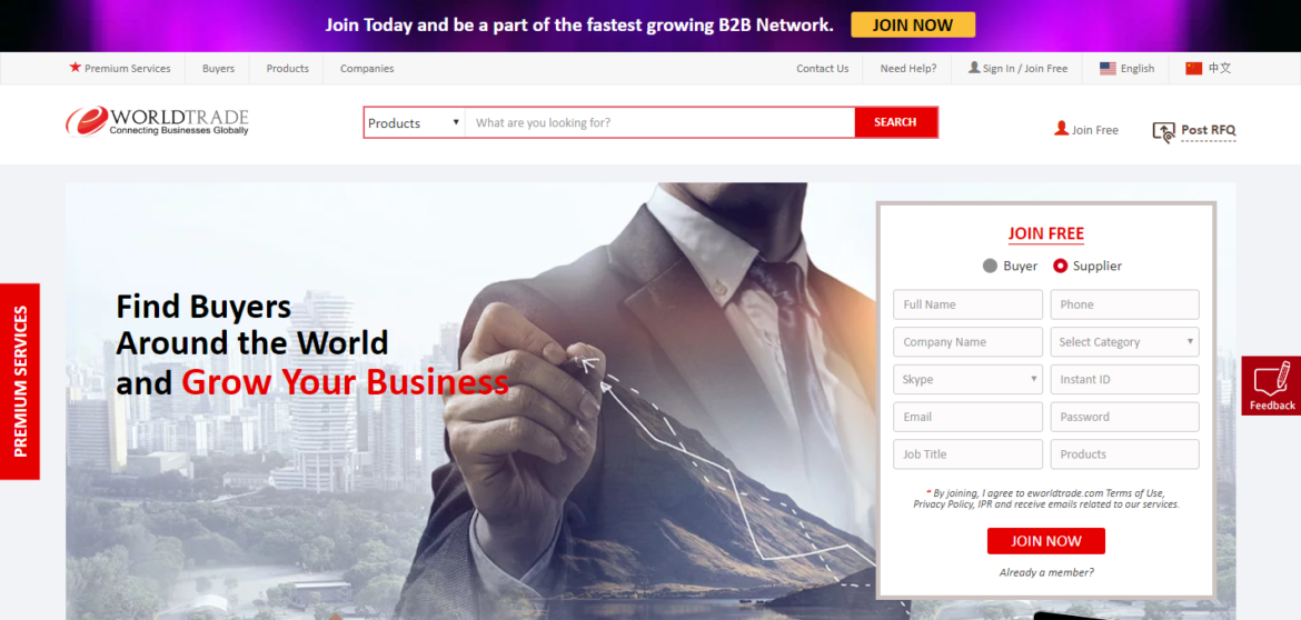 Empower Your eCommerce in USA with eWorldTrade
